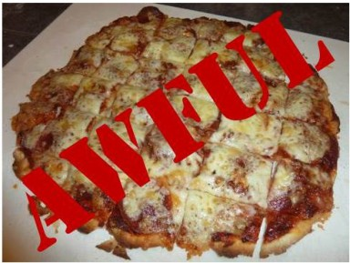 awful pizza